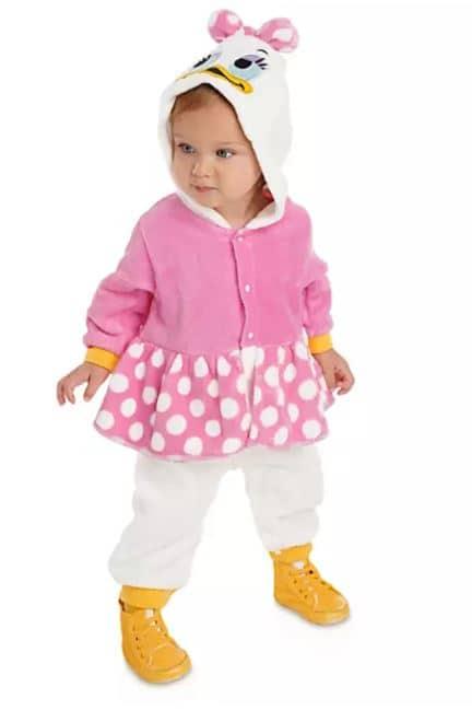 Daisy Duck baby costume idea