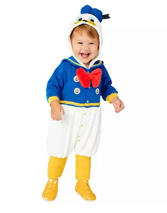 Donald Duck Disney baby costumes