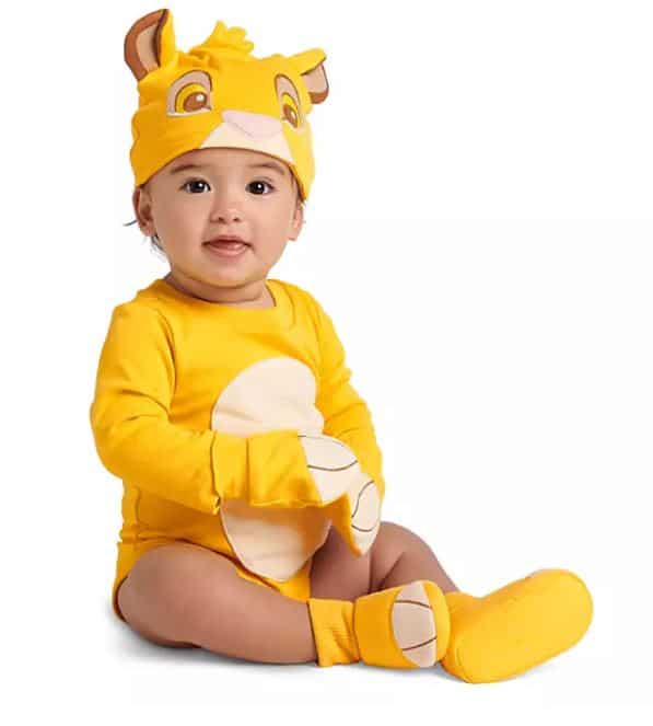 Lion baby costume ideas