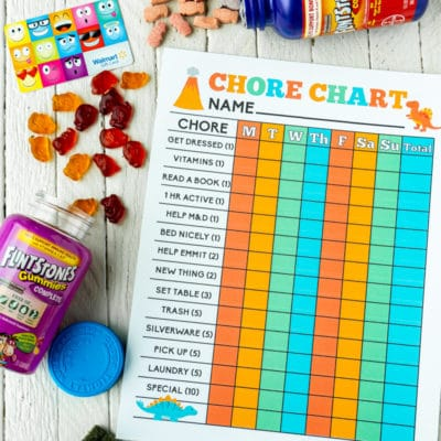 Free Printable Chore Charts for Kids