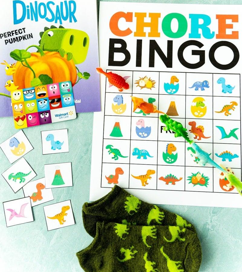 printable chore chart bingo cards