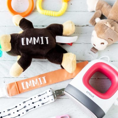 How to Personalize Baby Items with Cricut EasyPress Mini