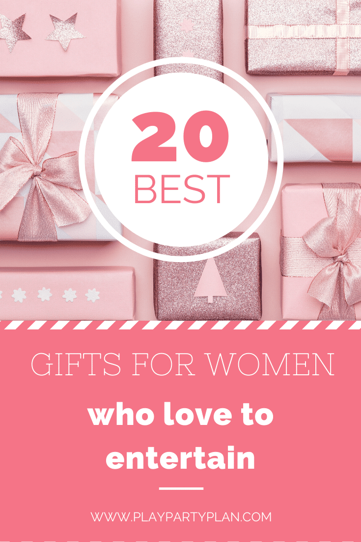 Know someone who loves to host parties and get togethers? These gifts are perfect for the entertainers in your life! Great gift ideas for women!