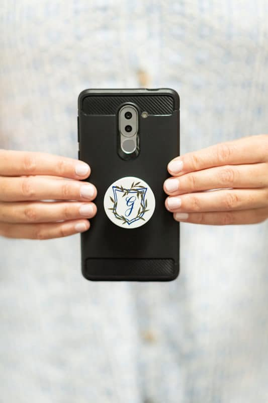 Pop sockets made great personalized gifts for kids
