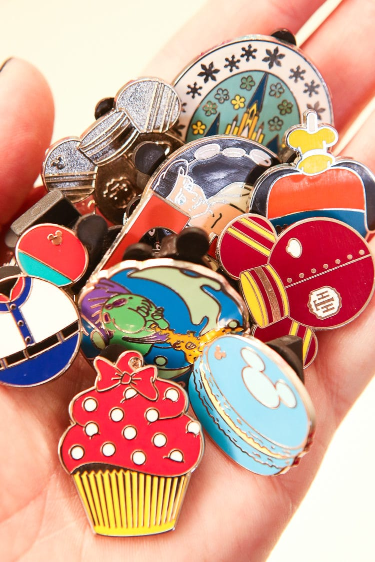 Pin trading is one of the most fun things to do at Disney World