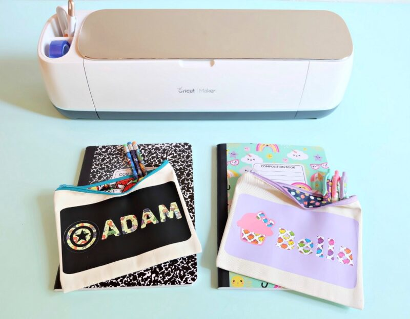 Pencil pouches make great personalized gifts for kids