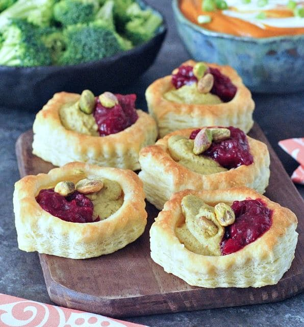 tarts make great Christmas appetizers