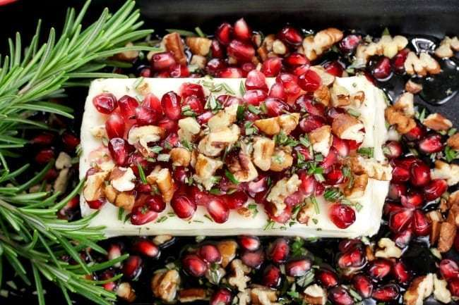 Anything with pecans make great Christmas appetizers