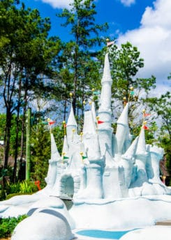 Mini golf is one of the most fun things to do at Disney World