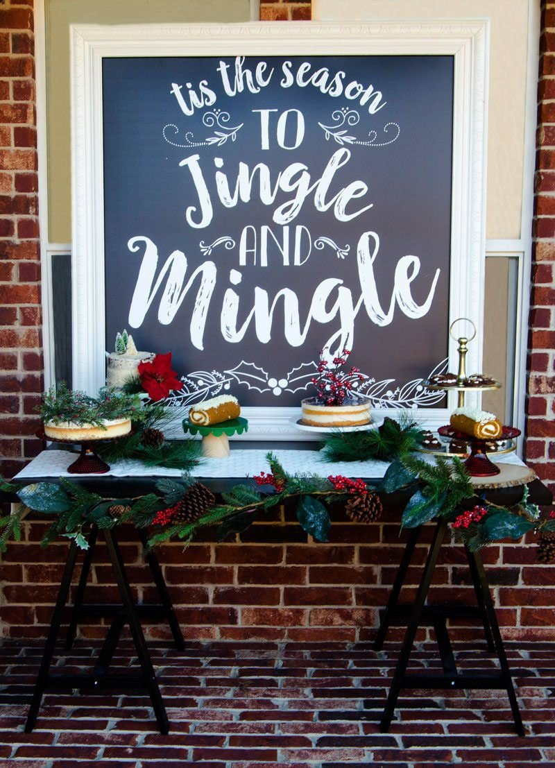 Mingling Christmas party themes