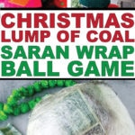 The best Christmas Saran Wrap ball game ever with directions on how to make the ball, what to put in the ball, tons of ideas or prizes, rules, and more! You've never played a Saran Wrap game like this! Ideas for kids and adults.