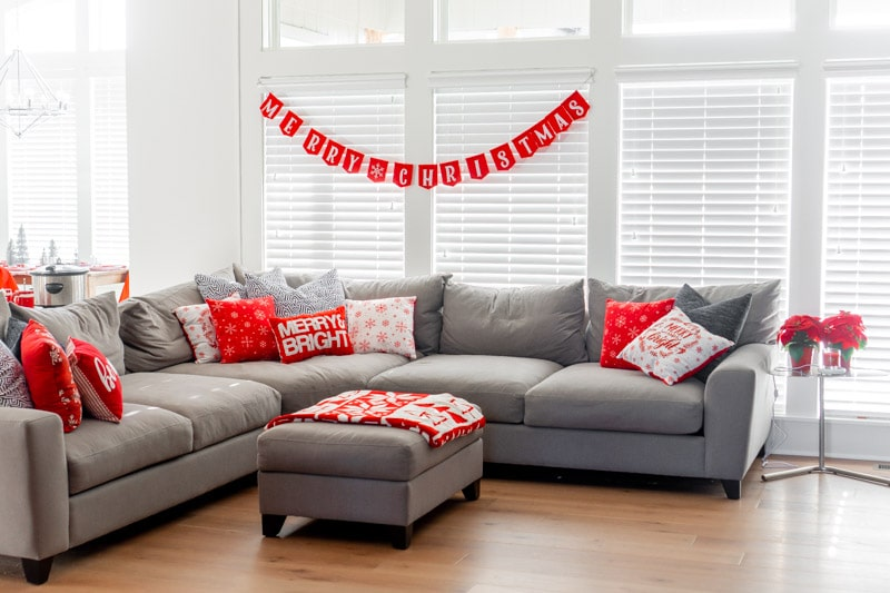 Living room decorations and other Christmas party ideas