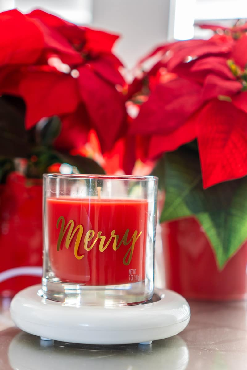 Use candles to add scents to your favorite Christmas party ideas
