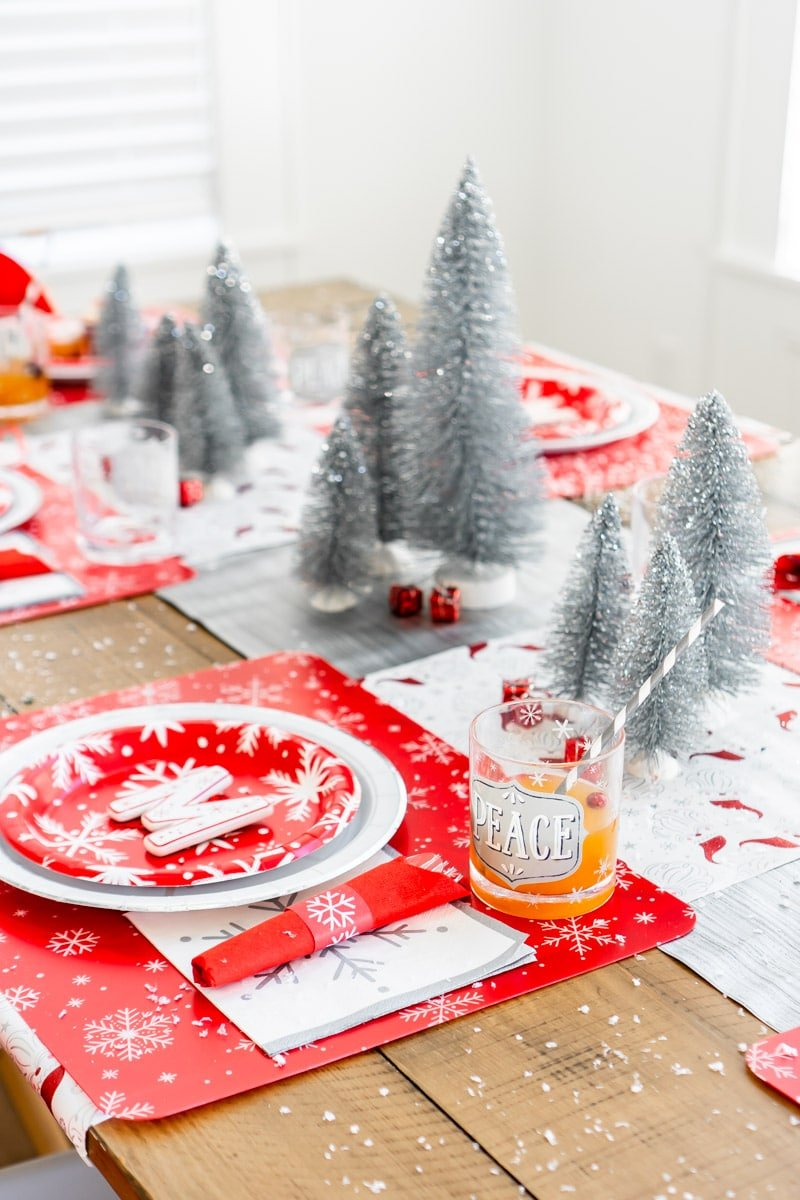 Snowy Christmas party ideas