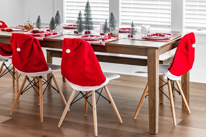 Snow themed Christmas party ideas
