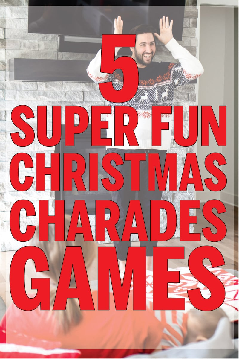 Fun Christmas charades game ideas!