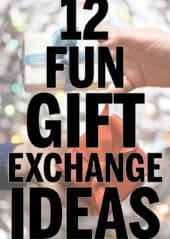 12 of the best Christmas gift exchange games and ideas! White elephant games, family games, and even great office party games!