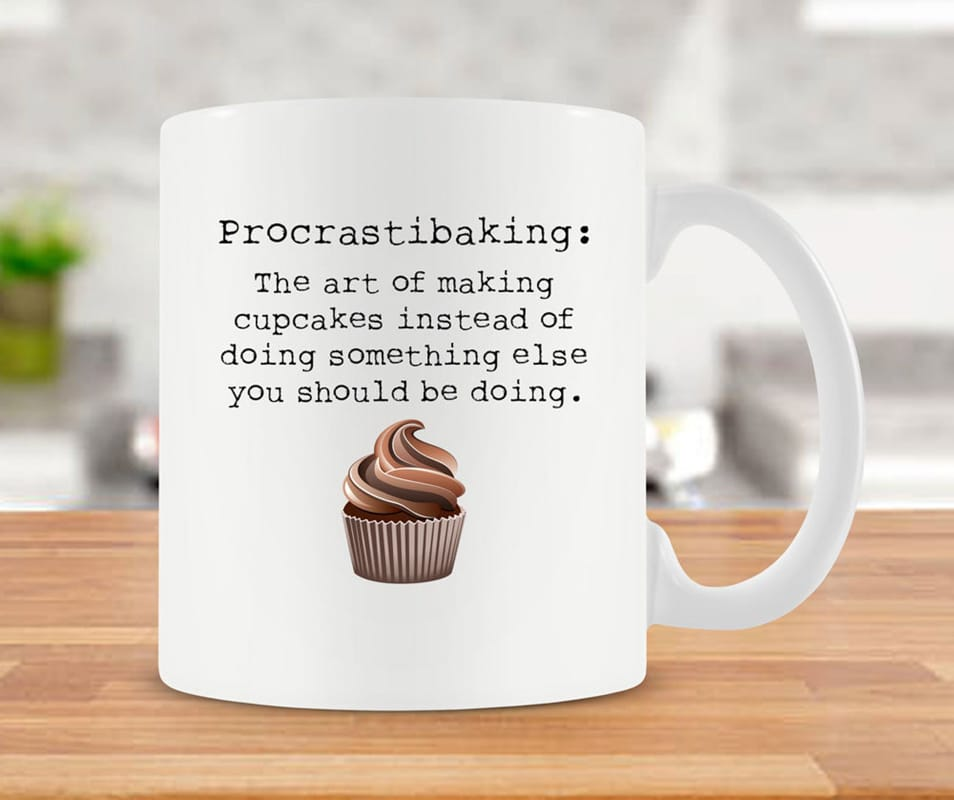 A fun mug makes one of the best Christmas gifts for bakers