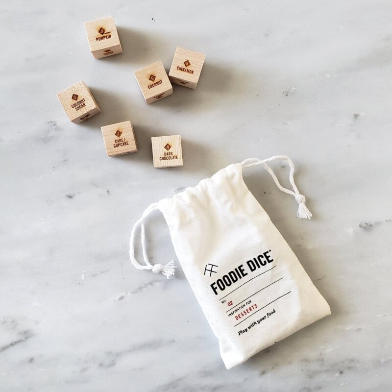 Dessert dice make one of the most unique gifts for bakers