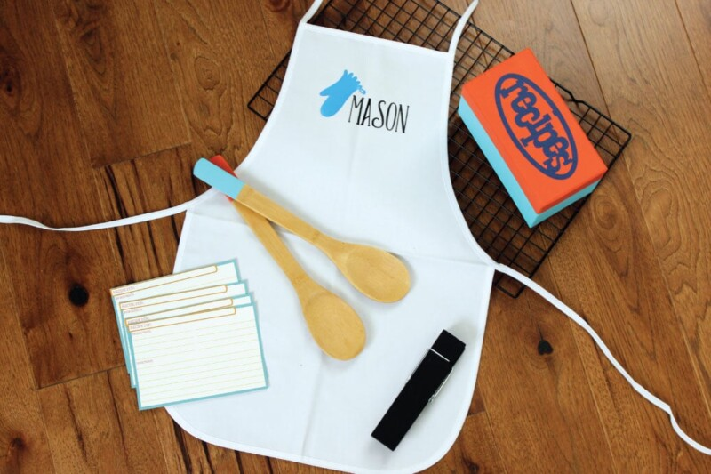 Kitchen inspired personalized gifts for kids