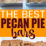 Easy pecan pie bars recipe with shortbread crust that everyone will love! They're easy to make, delicious, and the perfect holiday dessert!