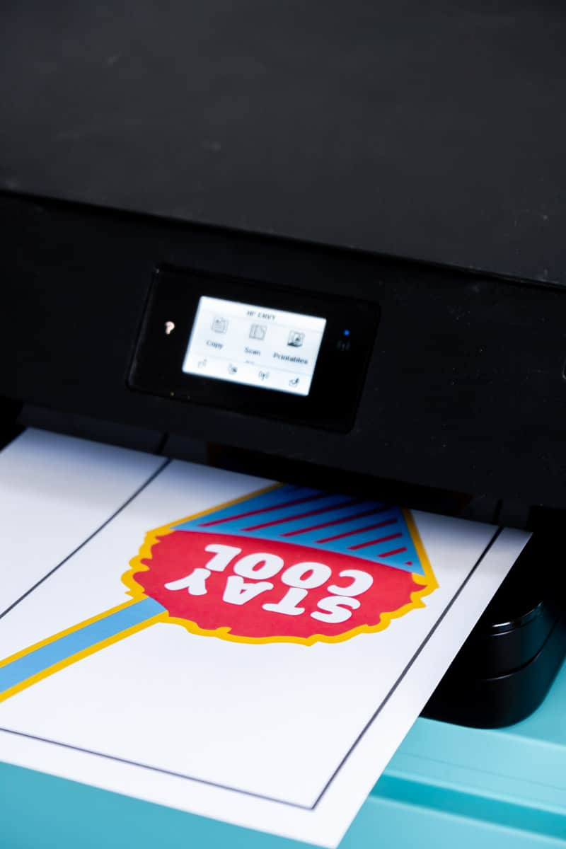 Printing out personalized gifts for kids
