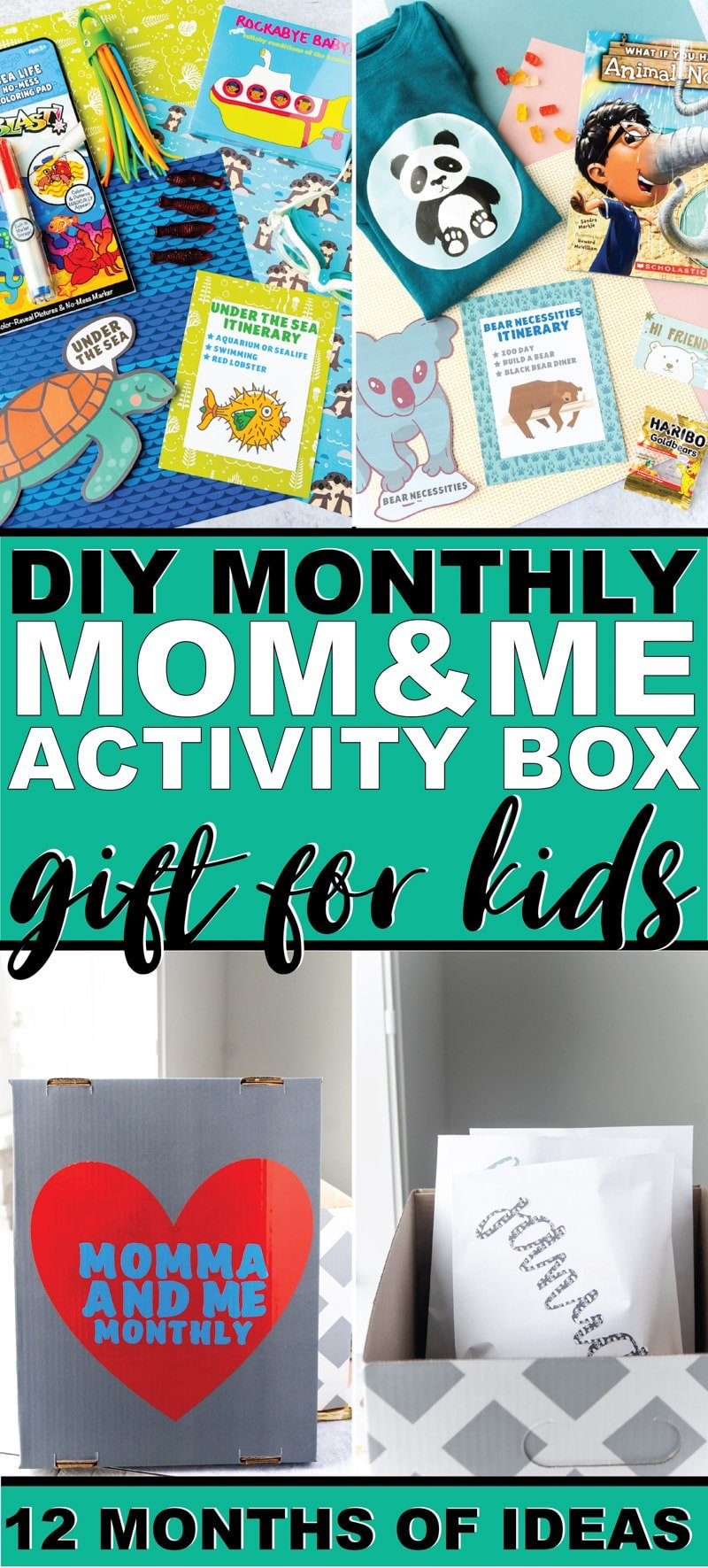 This monthly mom and me date night box is one of the best gifts for kids who have everything! It's something everyone - mom and kids will love!