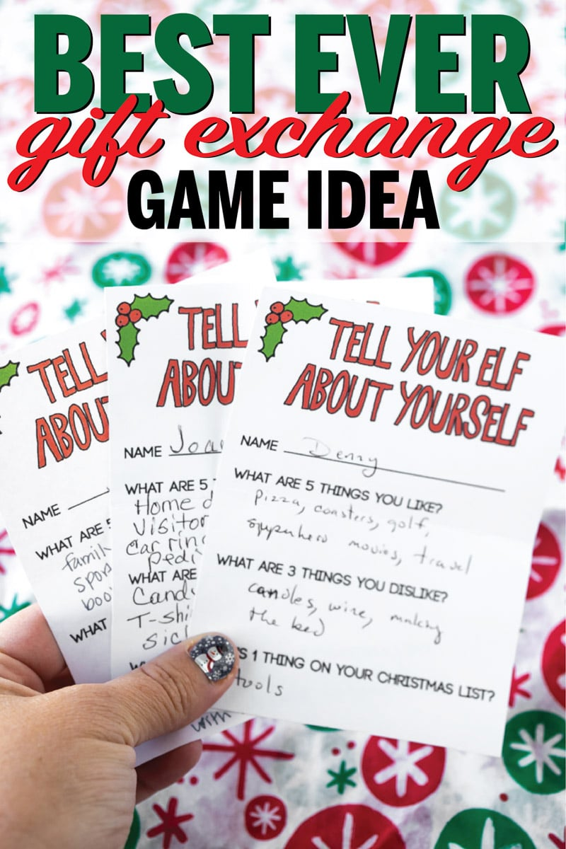 Forget everything you knew about gift exchange games and try this one out this year instead! It's the best type of gift game ever and one of my favorite gift exchange games of all time!