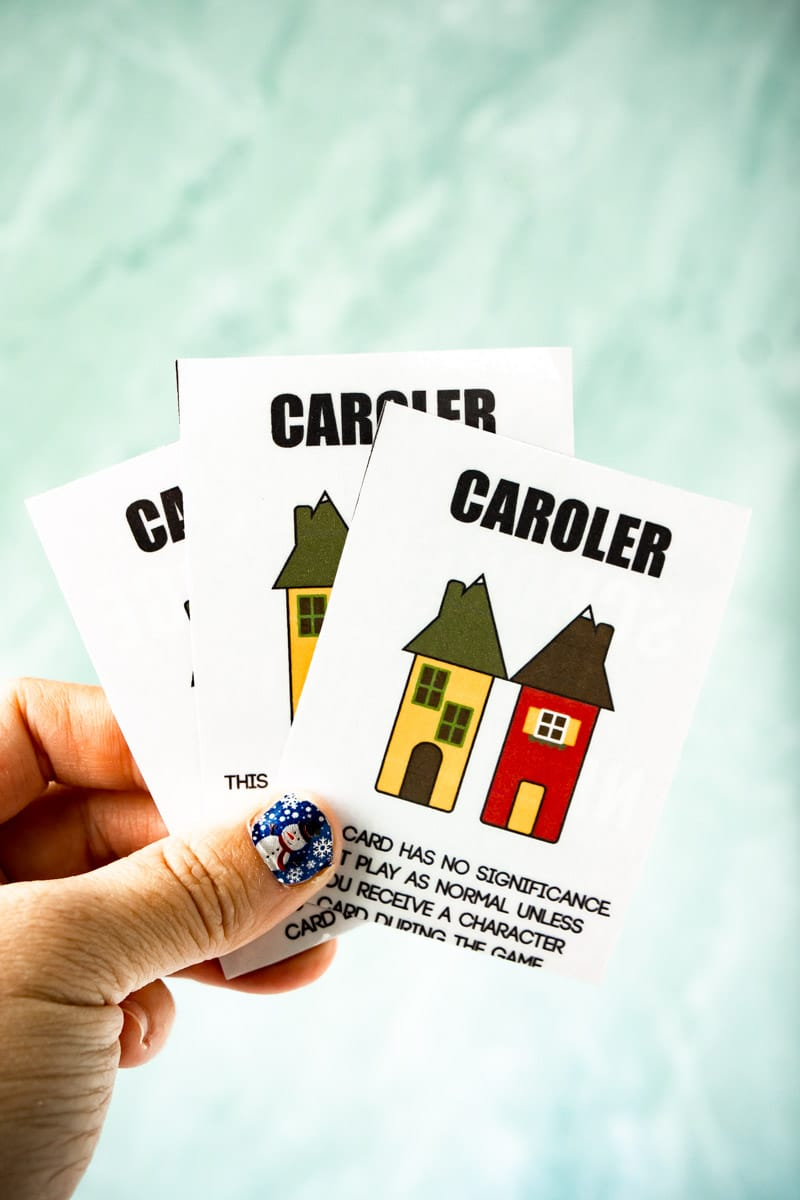 Caroler games in Scrooge Your Neighbor game