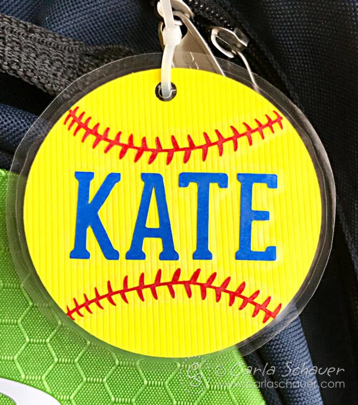 Personalized gifts can be as simple as sports tags