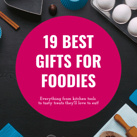 Unique gifts for foodies! Great ideas whether you're shopping for Christmas, birthday, or just a fun gift for a friend!