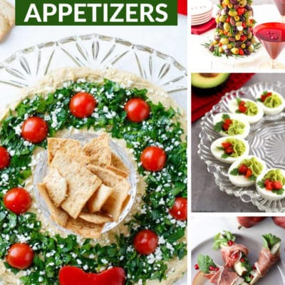 30 Easy Christmas Appetizers