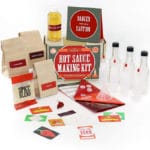 A hot sauce making kit is one of the best gifts for foodies
