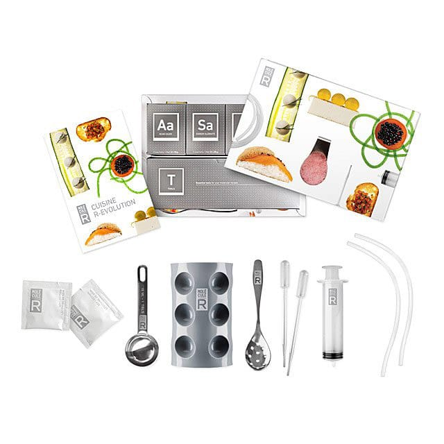 A molecular gastronomy kit is one of the best gifts for foodies