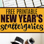 Free printable Scattergories lists for New Year's Eve! Fun game for kids, for teens, and even for adults! One of my family's favorite New Year's Eve games