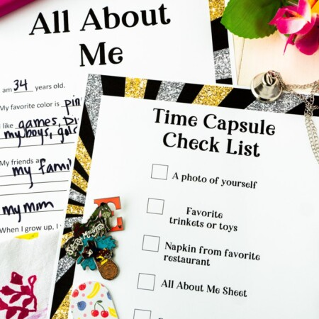 Things to put in a time capsule and other time capsule ideas