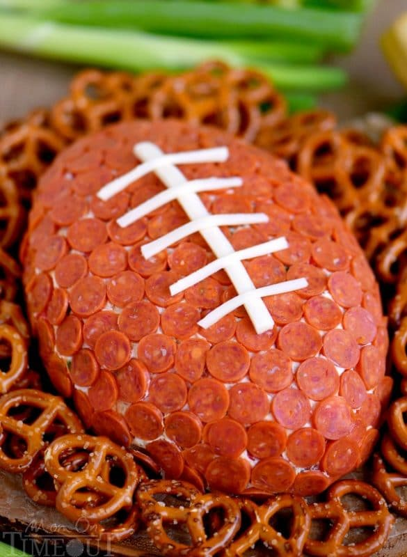 Cheese balls make the best Super Bowl party food ideas