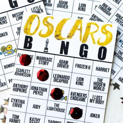 Free Printable 2020 Oscar Bingo Cards