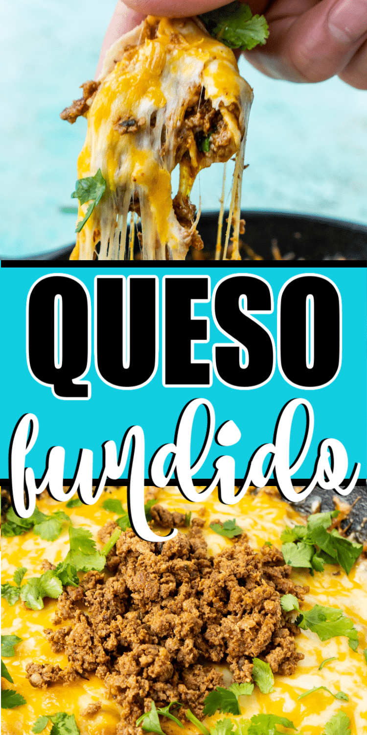 The best queso fundido with chorizo! An authentic recipe that's easy to make and absolutely delicious!
