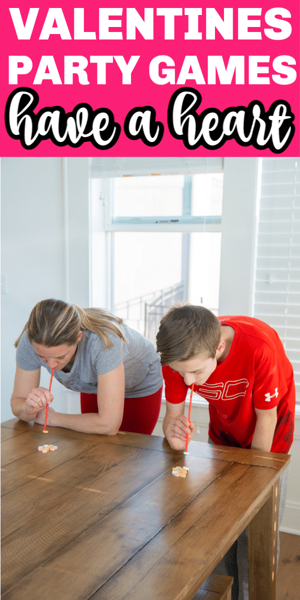 valentines minute to win it games with a straw