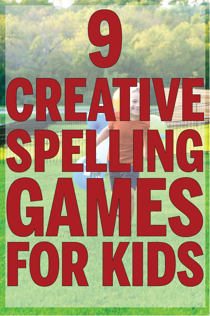 Creative spelling games for kids
