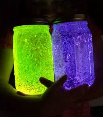 DIY fairy jars