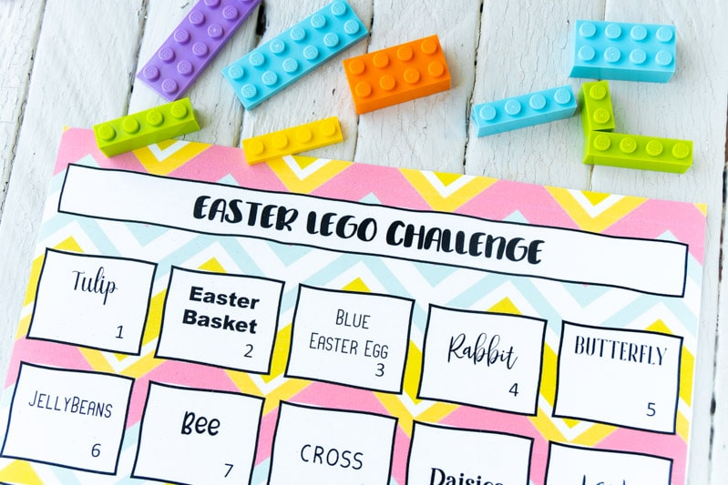 Easter Lego challenge and Legos