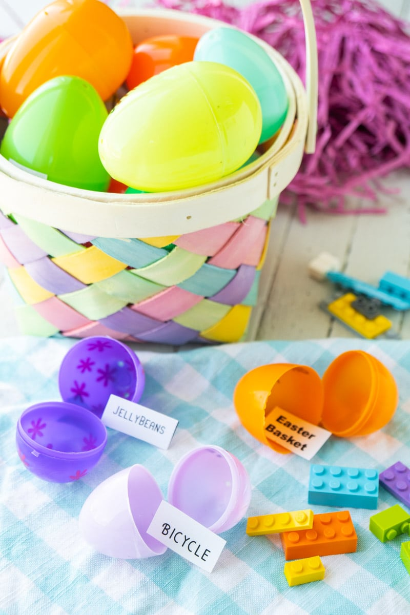 Easter eggs and Lego challenge words