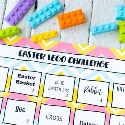 Free Printable Easter Lego Challenge