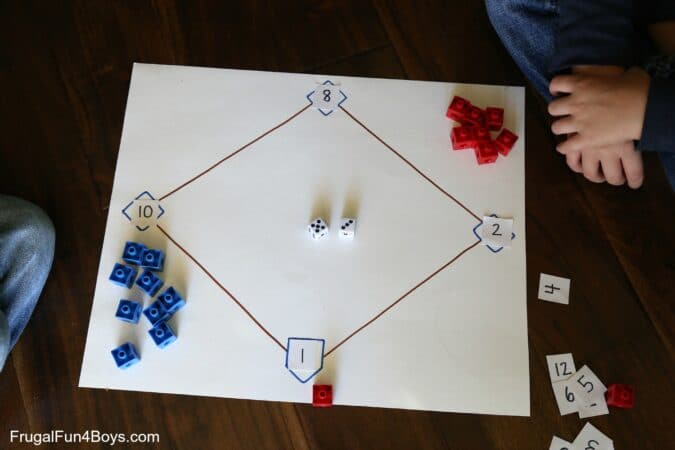Math baseball is one of the most fun math games