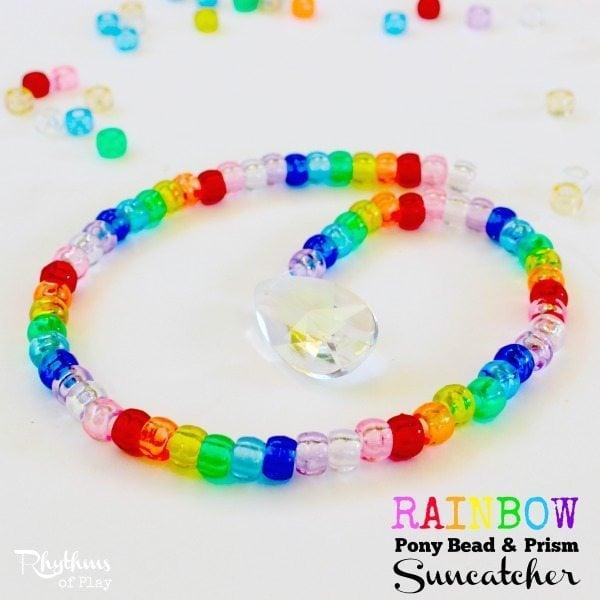 Rainbow suncatchers