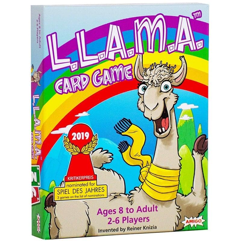 Fun new board games for kids who love llamas