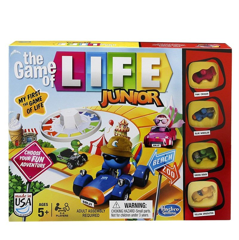 Life board games for kids