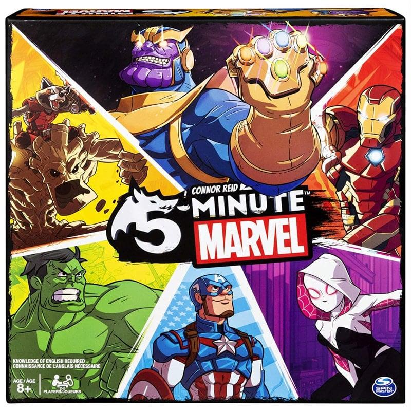 Marvel inspired board games for kids